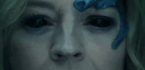 Seven of Nine in a recent Oicard episode as temporary Borg Q