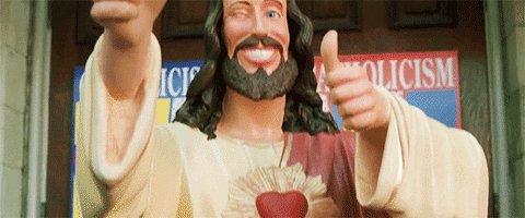 ben affleck jesus GIF