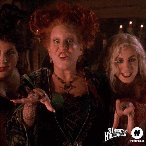 Hocus Pocus Halloween GIF by Freeform