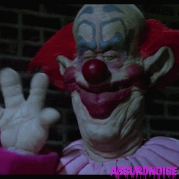 killer klowns from outer space horror movies GIF by absurdno