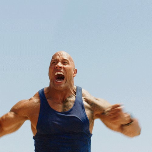 The Rock Comedy GIF by Baywatch Movie