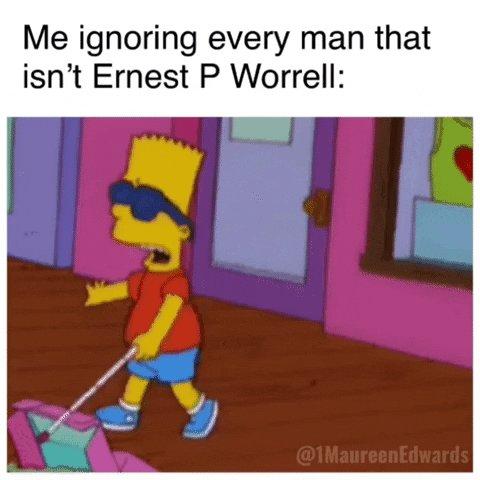 RT @1maureenedwards: #ErnestPWorrell #ErnestTwitter https://t.co/AVcDicdgC2