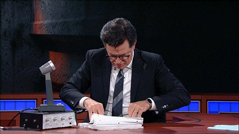 Confused Stephen Colbert GIF by The Late Show With Stephen C