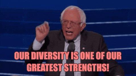 Bernie Sanders Diversity GIF by Democratic National Conventi