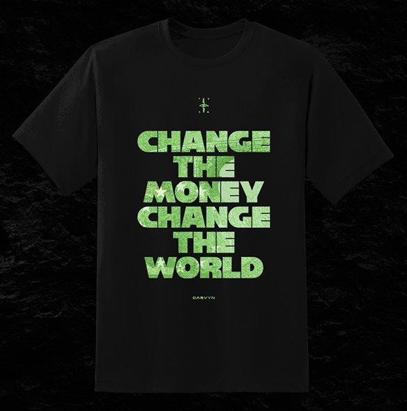 Google görsellerden yapılmış kripto para tişört tasarımlarından sıkılmadınız mı?   👕 %100 Pamuk 🖨️ 30x40 Kaliteli Baskı  27.10.2021 - 16:00'da satışta.  #BARVYNxCRYPTODERGI   Detayları gün içinde buradan paylaşacağız 👀